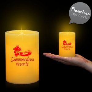 "4 1/4"" Pillar LED Candles"