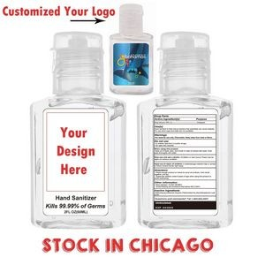 2 oz Hand Sanitizer Gel
