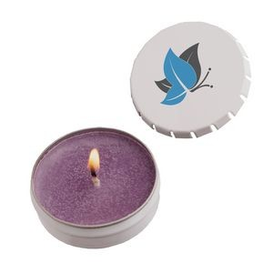 Snap Top Tin Candle
