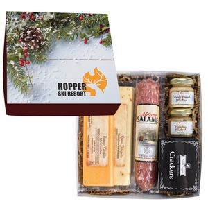 Deluxe Charcuterie Gourmet Meat & Cheese Set Chairman Gift Box