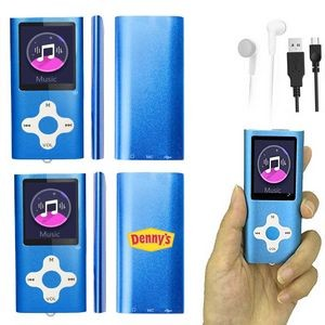 iBank(R) MP3/MP4 Video Music Player with 16G Memory / Voice Recorder (Blue)