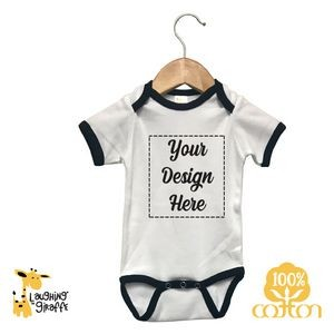 Long Sleeve Baby Bodysuits - Natural - 100% Cotton - The Laughing Giraffe®