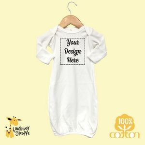 Short Sleeve Baby Bodysuits - Pink and Blue - 100% Cotton - The Laughing Giraffe®
