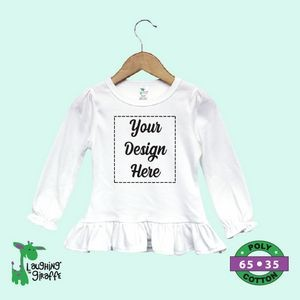 Long Sleeve Baby Bodysuits - Black or Blue - 100% Cotton - The Laughing Giraffe®