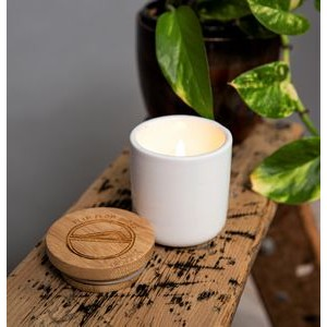 Soy Wax Candle with Bamboo Lid