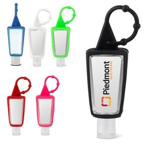 1oz. Hand Sanitizer w/Removable Silicone Carabiner