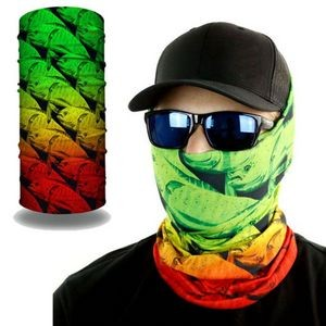 2-Layer Reusable Face Bandana mask Tube w/ Full Color Logo